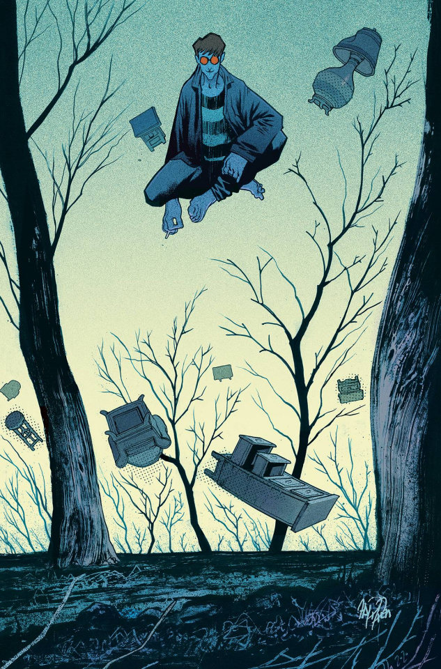 You Look Like Death: Tales from the Umbrella Academy #4 (Harren Cover)
