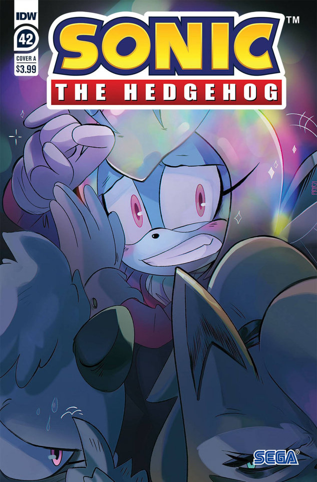 Sonic the Hedgehog #42 (Tramontano Cover)