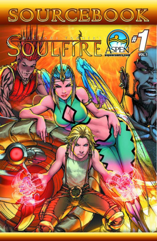 Soulfire Sourcebook #1 (Direct Market Cover)