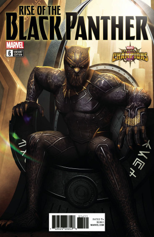 Rise of the Black Panther #6 (Game Cover)
