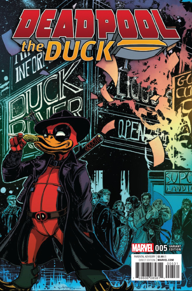 Deadpool the Duck #5 (Chin Cover)