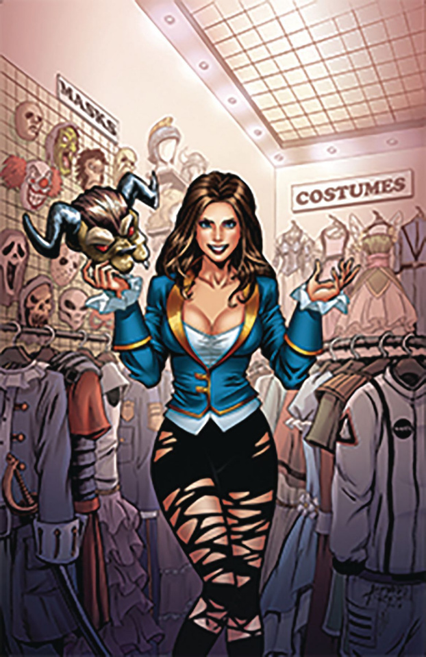 Grimm Fairy Tales Presents 2018 Cosplay Special #1 (Reyes Cover)