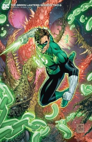 Green Lantern, Season 2 #6 (Tony S Daniel Cover)