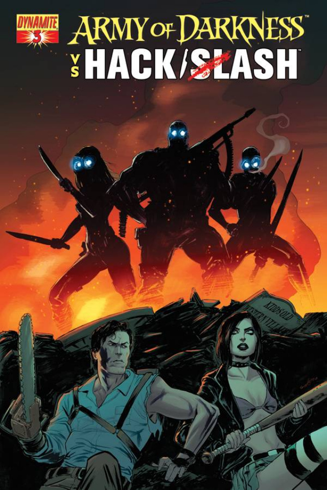 Army of Darkness vs. Hack/Slash #3 (Seeley Cover)