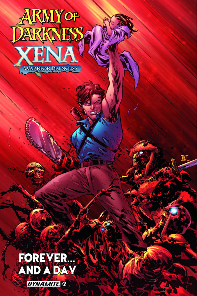 Army of Darkness / Xena: Forever... And a Day #2 (Lashley Cover)