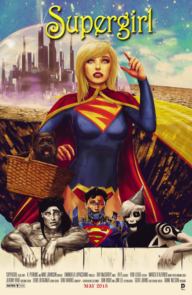 Supergirl #40 (Movie Poster Cover)