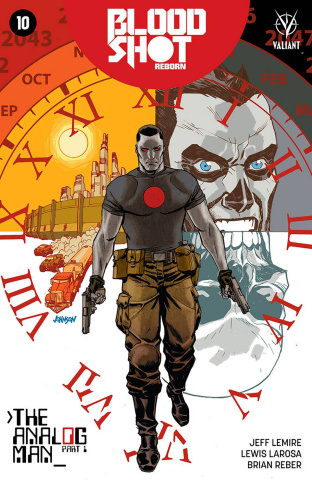 Bloodshot: Reborn #10 (Johnson Cover)