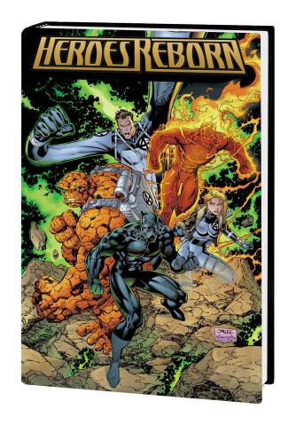 Heroes Reborn (Omnibus Lee Cover)