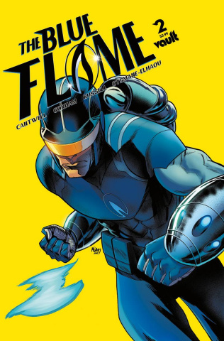 The Blue Flame #2 (Gorham Cover)