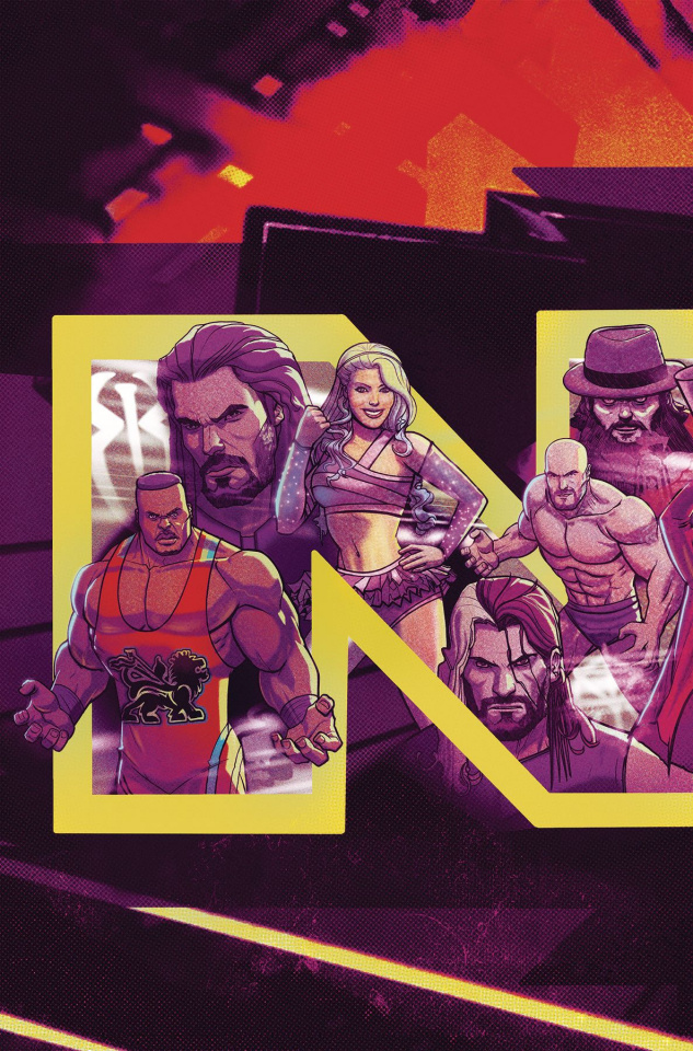 WWE: NXT Takeover - Blueprint #1  (Subscription D'Alfonso Cover)
