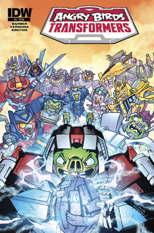 Angry Birds / Transformers #4