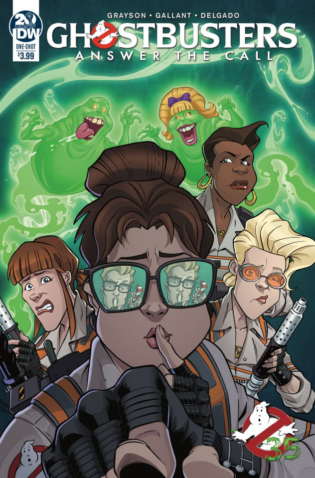 Ghostbusters 35th Anniversary (Answer Call Ghostbusters Gallant Cover)