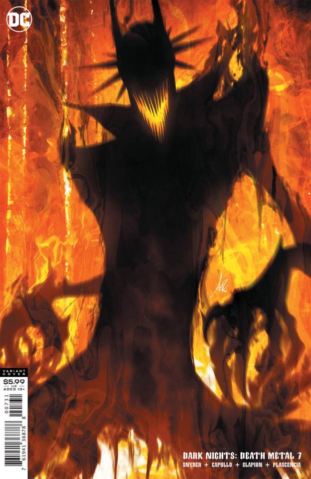Dark Nights: Death Metal #7 (Stanley Artgerm Lau Batman Who Laughs Cover)
