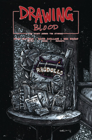 Drawing Blood: Spilled Ink #4 (Eastman Cover)