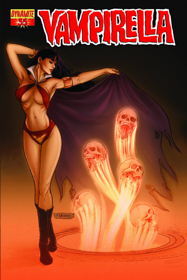 Vampirella #35 (Neves Cover)