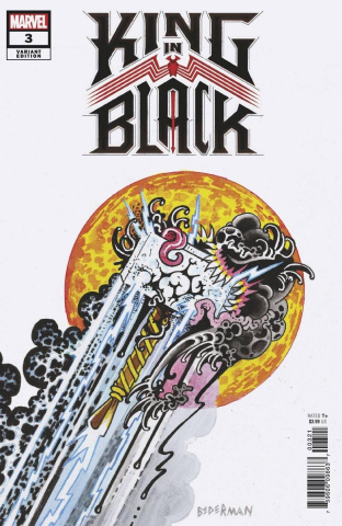 King in Black #3 (Bederman Tattoo Cover)