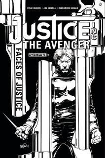 Justice Inc.: Faces of Justice #1 (10 Copy Cover)