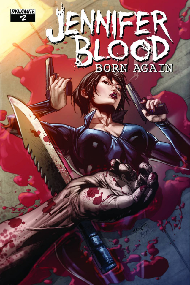Jennifer Blood: Born Again #2