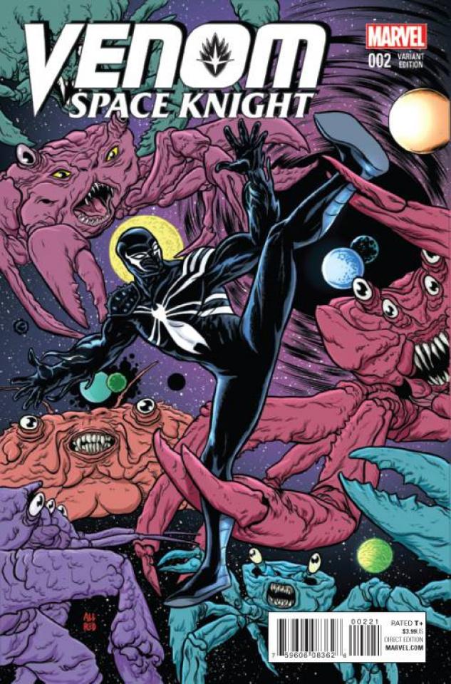 Venom: Space Knight #2 (Allred Cover)