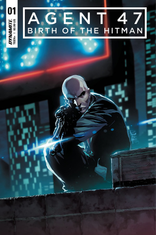 Agent 47: Birth of the Hitman #1 (Tan Cover)