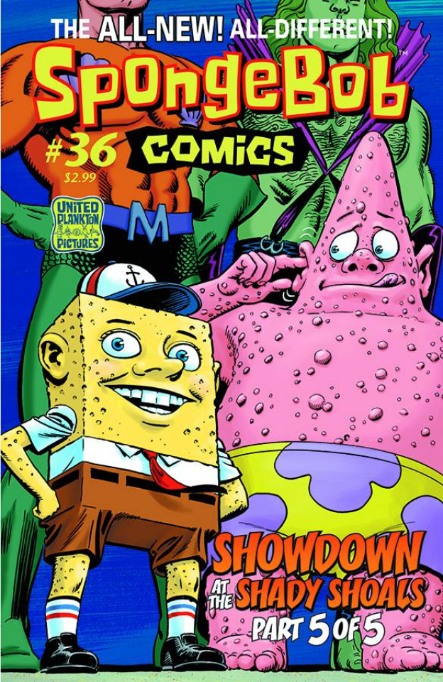 Spongebob Comics #36