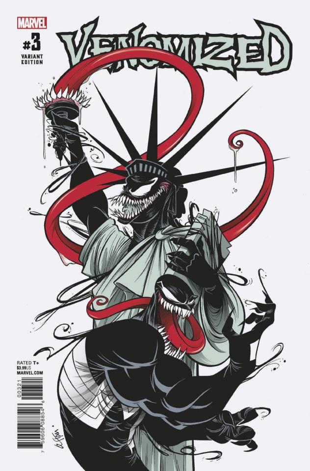 Venomized #3 (Duarte Cover)
