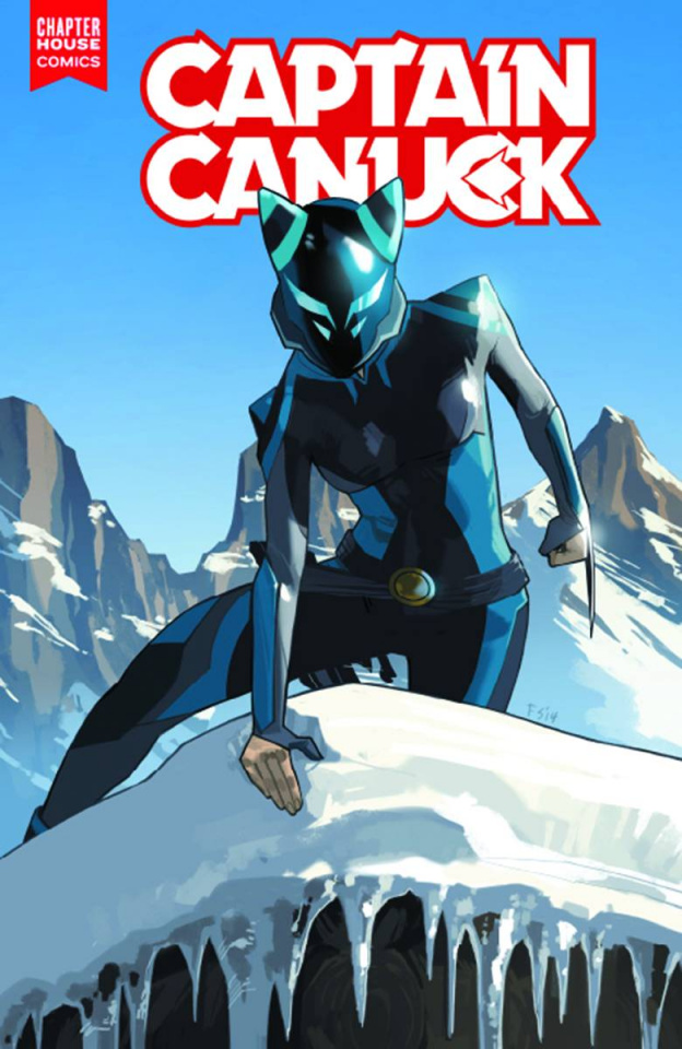 Captain Canuck #4 (Staples Cover)