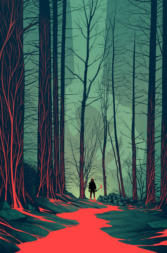 The Woods #13 (25 Copy Cloonan Cover)