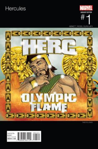 Hercules #1 (Jones Hip Hop Cover)