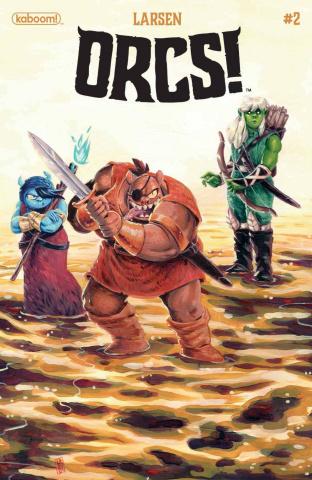 ORCS! #2 (Larsen Cover)