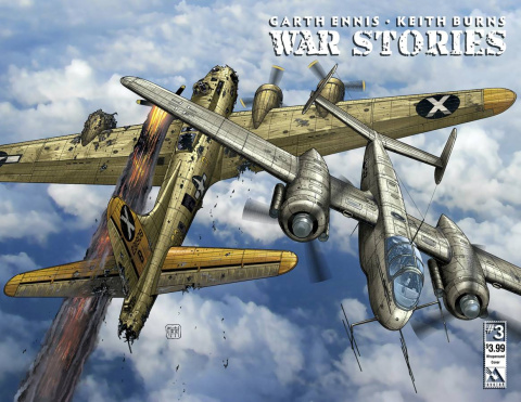 War Stories #3 (Wrap Cover)
