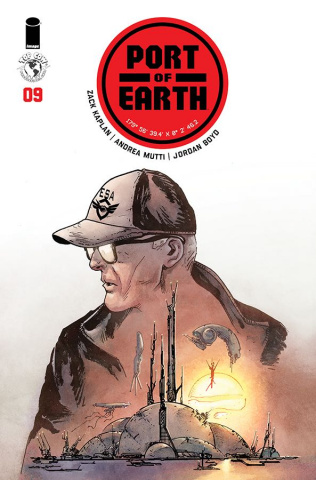 Port of Earth #9 (Mutti Cover)
