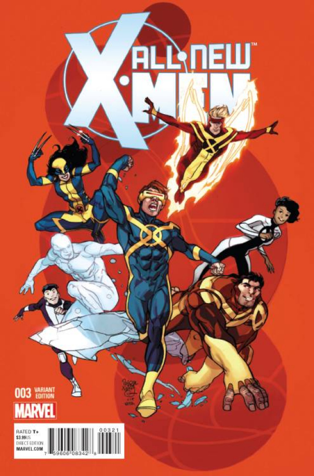 All-New X-Men #3 (Ferry Cover)