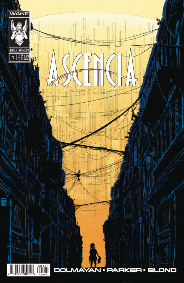 Ascencia #1 (Tony Parker Cover)