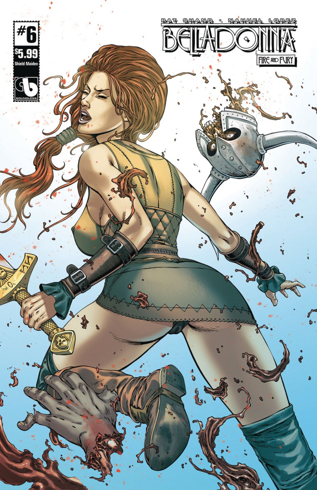 Belladonna: Fire and Fury #6 (Shield Maiden Cover)