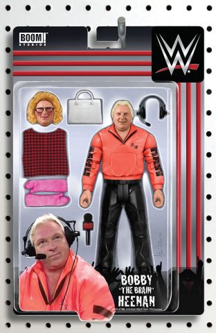 WWE #24 (Riches Action Figure Cover)