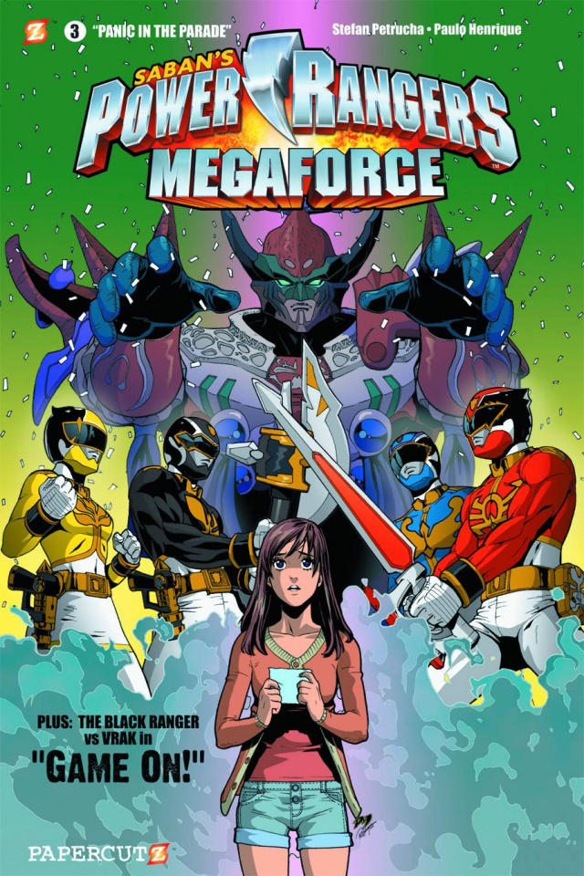 Power Rangers Megaforce Vol. 3: Panic Parade