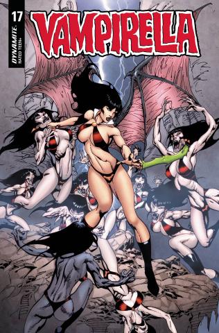 Vampirella #17 (Castro Cover)