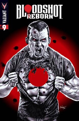 Bloodshot: Reborn #9 (Suayan Cover)