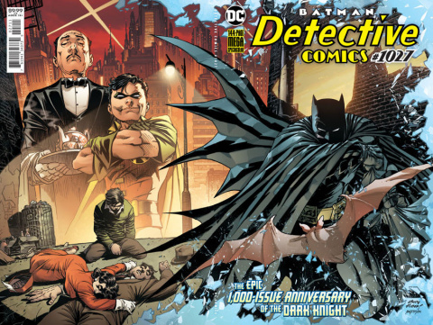 Detective Comics #1027 (Andy Kubert Wraparound Cover)