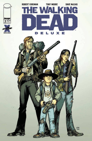 The Walking Dead Deluxe #3 (Moore & McCaig Cover)