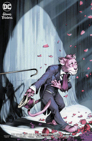 Exit Stage Left: The Snagglepuss Chronicles #6 (Variant Cover)