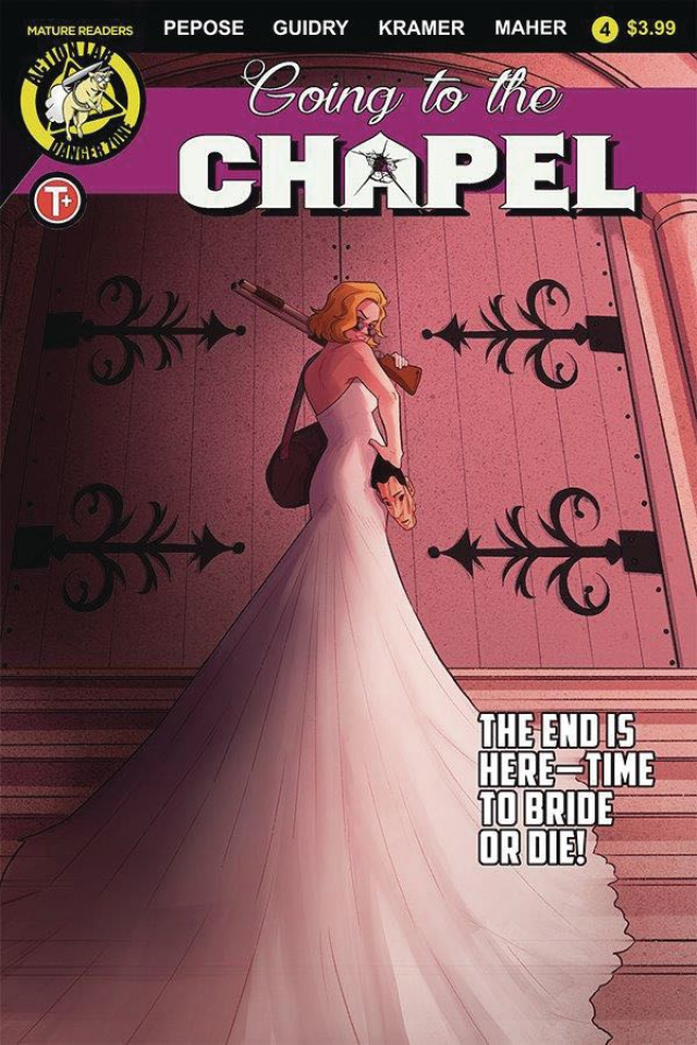 Going to the Chapel #4 (Johanna The Mad Cover)