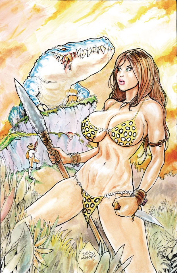 Cavewoman: Rescue Party (Massey Cover)