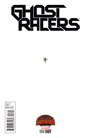 Ghost Racers #1 (Texeira Ant-Sized Cover)