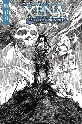 Xena #2 (25 Copy Finch Red Cover)