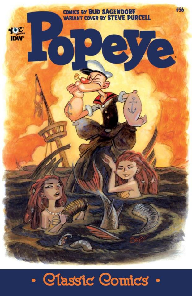 Popeye Classics #56 (10 Copy Cover)
