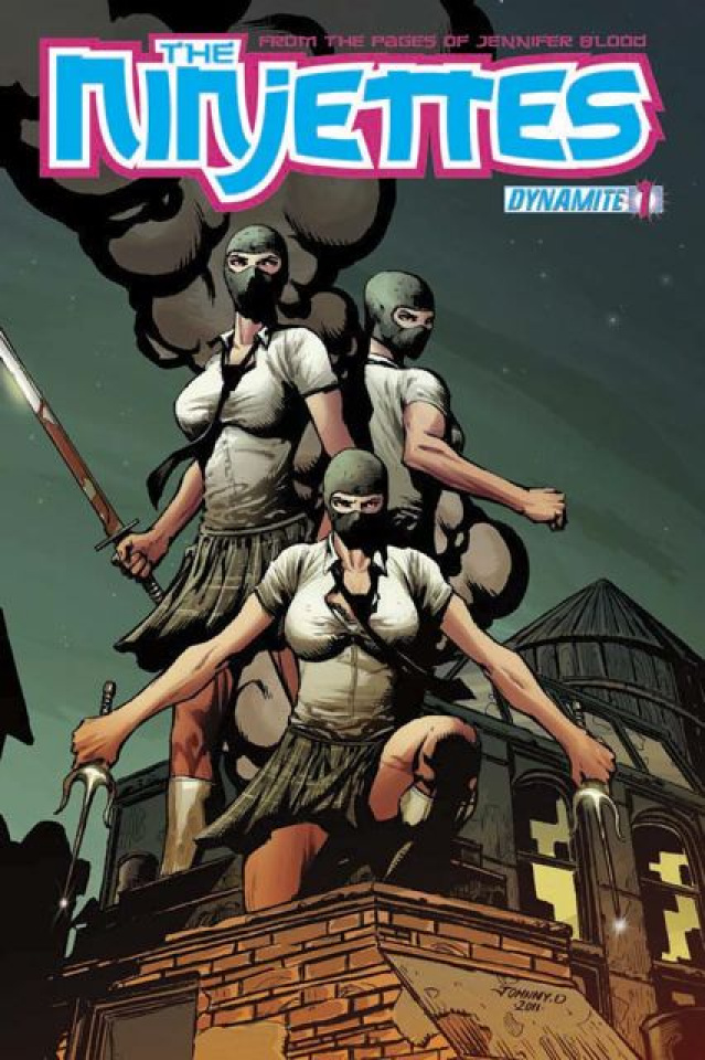 The Ninjettes #1 (Dynamic Forces Cover)