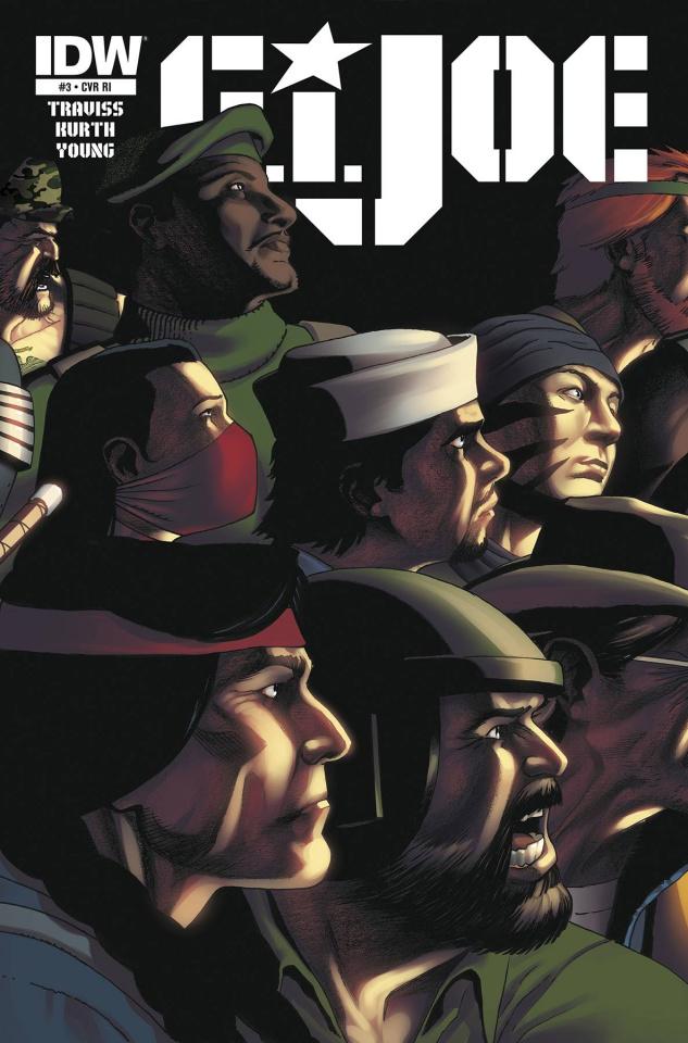 G.I. Joe #3 (10 Copy Cover)