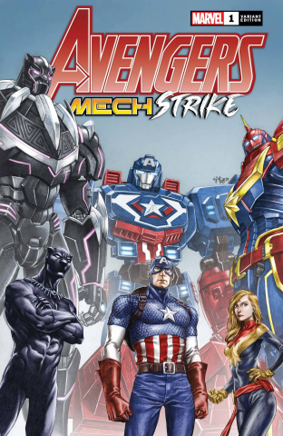 Avengers: Mech Strike #1 (Su Cover)